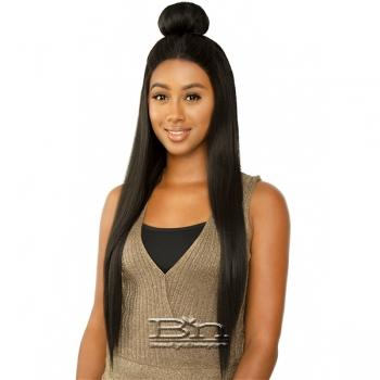 The Wig Brazilian Human Hair Blend Lace Front Wig - LH PICKME