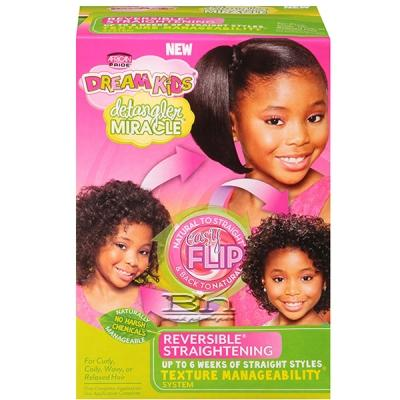African Pride Dream Kids Reversible Straightening Texture Manageability System