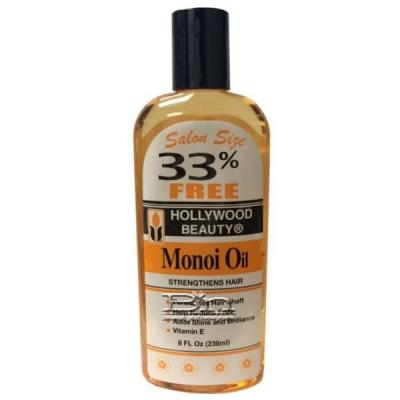 Hollywood Beauty Monoi Oil 8oz