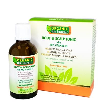 Organic Hair Energizer Root & Scalp Tonic with Pro Vitamin-B5 1.69oz