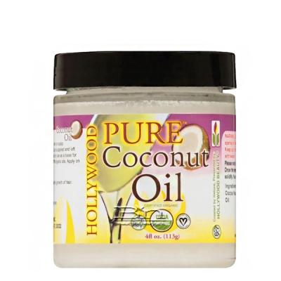 Hollywood Beauty Pure Coconut Oil 4oz