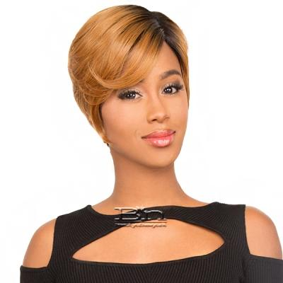 The Wig Human Hair Blend Invisible Lace Part Wig - LH PART ELLEN