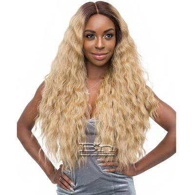 Janet Collection Synthetic Extended Deep Part Lace Wig - ATHENA