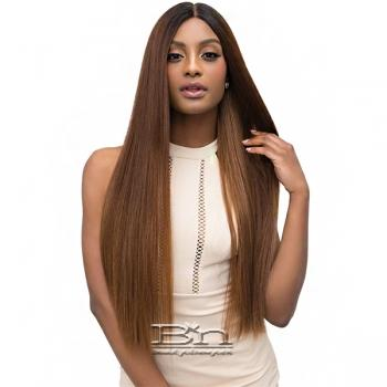 Janet Collection Synthetic Extended Deep Part Lace Wig - LEAH
