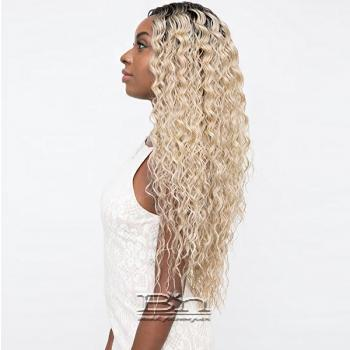 Janet Collection Synthetic Extended Deep Part Lace Wig - MARILYN