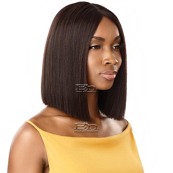 Outre The Daily Wig 100% Human Hair Wig - STRAIGHT BLUNT CUT BOB 12