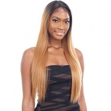 Mayde Beauty Synthetic Lace and Lace Natural Hairline Lace Front Wig - CELINE