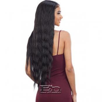 Model Model Synthetic Freedom Part Lace Wig - NUMBER 010
