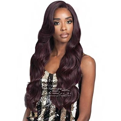 Bobbi Boss Human Hair Blend 5 inch Deep Part Lace Front Wig - MBLF300 MIKAYLA