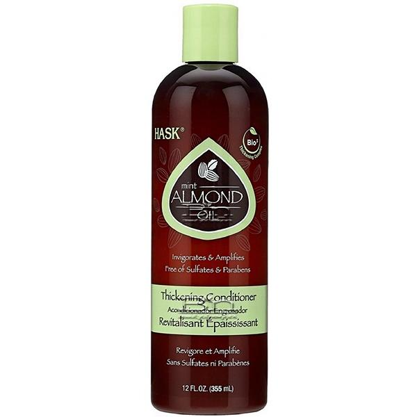 Hask Mint Almond Oil Thickening Conditioner 12oz