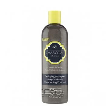 Hask Charcoal with Citrus Oil Purifying Shampoo 12oz