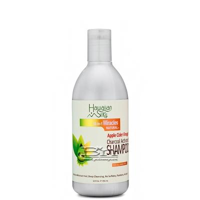 Hawaiian Silky Apple Cider Vinegar Charcoal Activated Shampoo 12oz