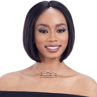 Naked 100% Unprocessed Brazilian Hair Lace Part Wig - LEONI