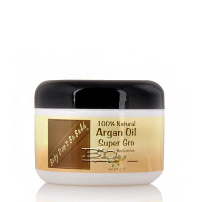 Baby Don't Be Bald 100% Argan Oil Super Gro 8oz