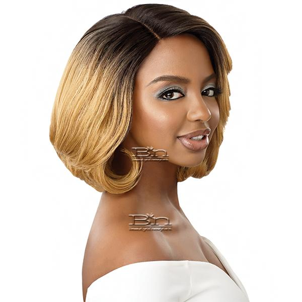 Outre Synthetic L-Part Swiss Lace Front Wig - GWEN