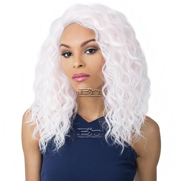 It's A Lace Front Wig - SWISS LACE MARINA (wet n wavy style)