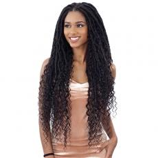 Freetress Equal Synthetic Hand Tied Lace Part Braided Wig - MERMAID LOC