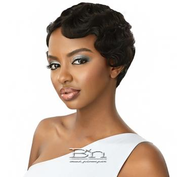 Outre 100% Human Hair Premium Duby Diamond Lace Front Wig - FINGER WAVE