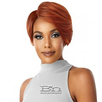 Outre 100% Human Hair Premium Duby Diamond Lace Front Wig - SWOOPED BANG