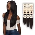 Outre Simply 100% Unprocessed Human Hair Weave - NATURAL STRAIGHT 3PCS (10,12,14)
