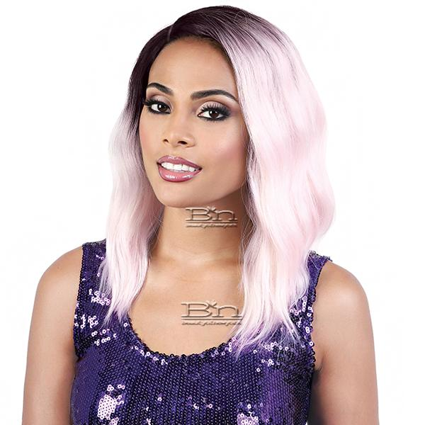 Motown Tress Synthetic Hair Curve Part Let's Lace Wig - LDP CURVE3