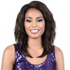 Motown Tress Synthetic Hair Let's Lace Wig - LDP EVA