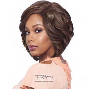 Vanessa Synthetic Hair Lace Part Wig - TOPS DRJ VELIN