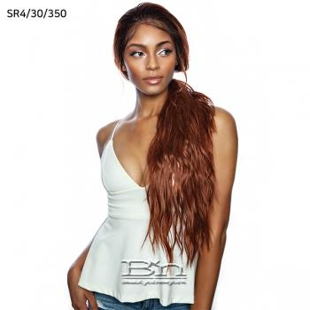 Mane Concept Brown Sugar Natural Hairline Human Hair Blend Lace Front Wig - BSN202 BRYCE
