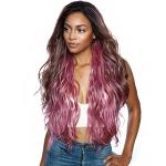Mane Concept Brown Sugar Natural Hairline Human Hair Blend Lace Front Wig - BSN203 ZION