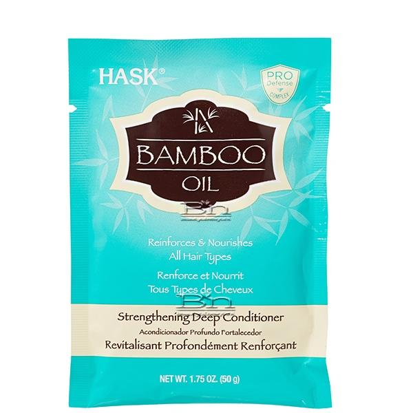 HASK Bamboo Oil Strengthening Deep Conditioner 1.75oz
