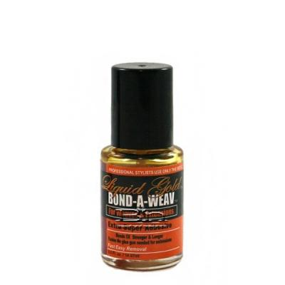 Liquid Gold Bond-A-Weav Extra Super Adhesive-Bottle 0.5oz