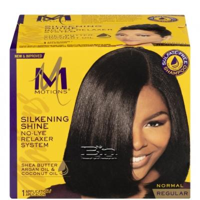 Motions Silkening Shine No-Lye Relaxer System- Regular