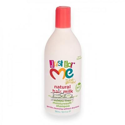 Just For Me Natural Hair Milk Moisturesoft Sulfate-Free Shampoo 13.5oz