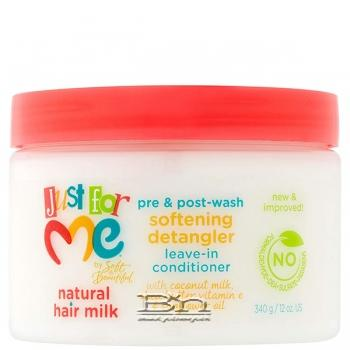 Just For Me Natural Hair Milk Softening Detangler Leave In Conditioner 12oz