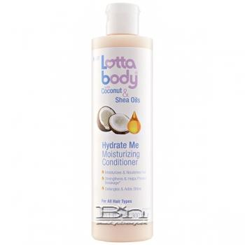 Lottabody Coconut & Shea Oils Hydrate Me Conditioner 10.1 oz