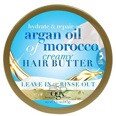 OGX Hydrate + Repair Argan Oil of Morocco Creamy Hair Butter 6.6 oz