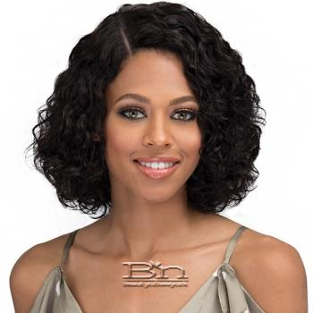 Bobbi Boss 100% Unprocessed Human Hair 4 inch Side Lace Part Wig - MHLP0003 LADONA