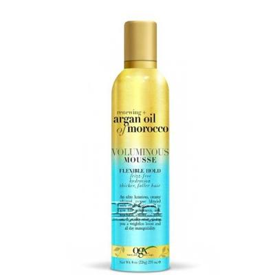 OGX Renewing Argan Oil of Morocco Voluminous Mousse Flexible Hold 8oz