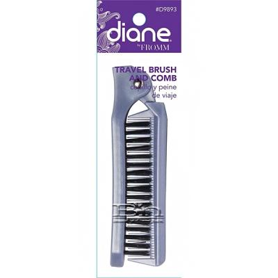 Diane #9893 Travel Brush and Comb