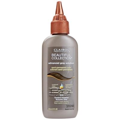 Clairol Beautiful Collection Advanced Gray Solution Semi-Permanent Color 3oz