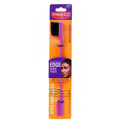 Red by Kiss BSH25 Professional Edge 100% Boar Edge Fixer