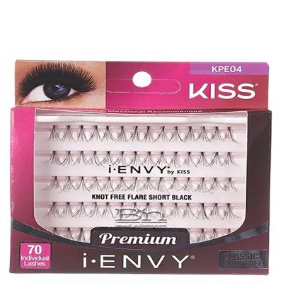 Kiss I-Envy KPE04 Individual Lashes - Classic Knot Free Short 70 lashes