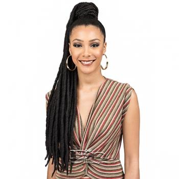 Bobbi Boss Synthetic Hair Drawstring Ponytail - SPUP42 FAUX LOC L