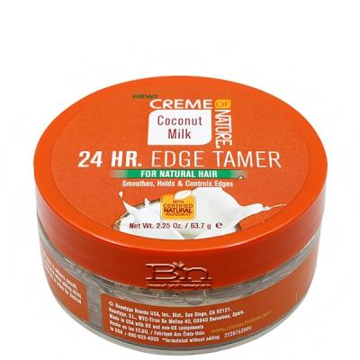 Creme of Nature Coconut Milk 24HR Edge Tamer 2.25oz