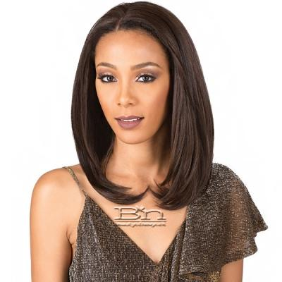 Bobbi Boss Human Hair Blend Full Hand Tied Lace Front Wig - MBDLF001 SABRINA