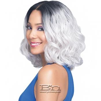 Bobbi Boss Human Hair Blend 5 inch Deep Part Lace Front Wig - MBLF160 LACINA