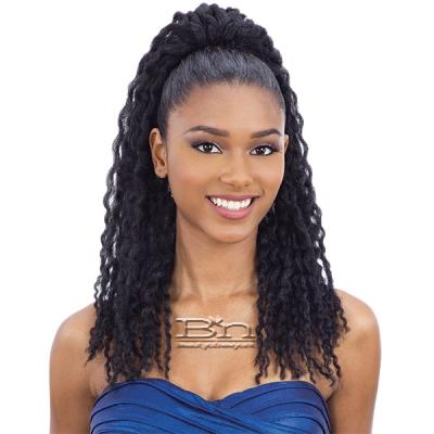 Freetress Synthetic Buntie Ponytail - TWIST CURL TIE