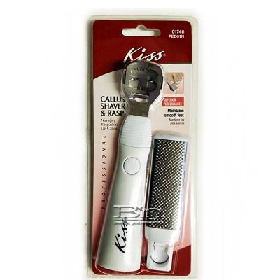 Kiss New York PED01N Callus Shaver & Rasp