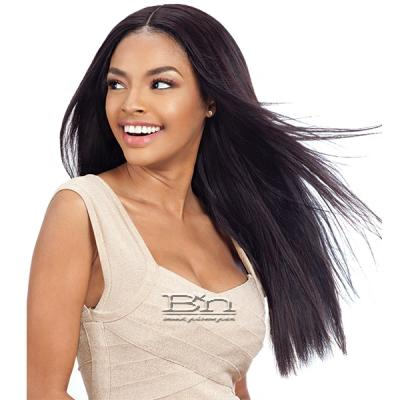 Naked 100% Brazilian Virgin Remy Hair Weave - STRAIGHT 5PCS (10/12/14/16 + lace closure)