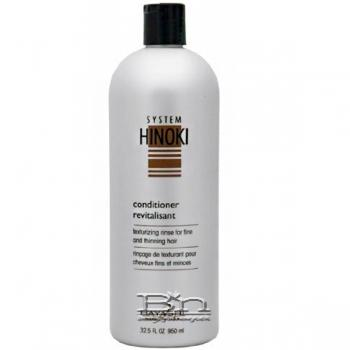 Hayashi System Hinoki Conditioner Texturizing Rinse for Fine and Thinning Hair 32.5oz